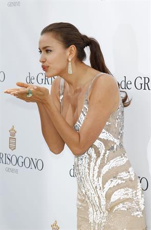 Irina Shayk Grisogono photocall at Cannes film festival on May 22, 2012