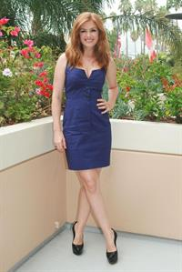 Isla Fisher - Bachelorette press conference portraits Aug 23, 2012