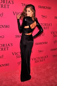 Izabel Goulart Victoria's Secret Fashion after party at TAO Downtown New York City, November 13, 2013