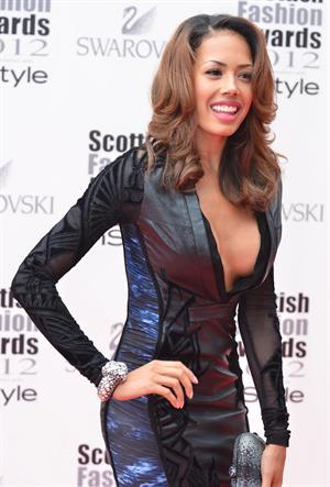 Jade Ewan (Sugababes) - Scottish Fashion Awards 2012 in Glasgow (June 11, 2012)