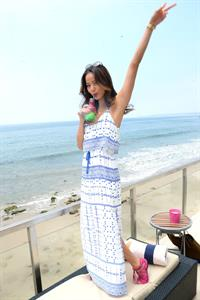 Jamie Chung Revolve Clothing Beach House Launch in Malibu, July 6, 2013