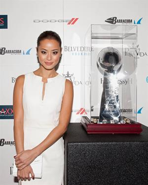 Jamie Chung Tenth Annual Leather & Laces, Feb 2, 2013