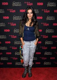 Janina Gavankar - 'Game Of Thrones' HBO party at Comic-Con (13 Jul 2012)