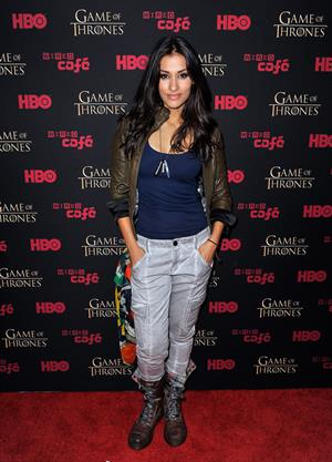 Janina Gavankar - 'Game Of Thrones' HBO party at Comic-Con (13 Jul 2012)