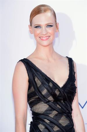 January Jones - 64th Primetime Emmys Nokia Theatre LA Sept 23, 2012