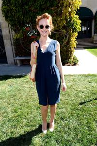 Jayma Mays Rape Treatment Center Fundraiser honoring Norman Lear held in Beverly Hills - October 14, 2012
