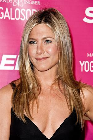Jennifer Aniston SELF Magazine celebrates 'Yogalosophy in Los Angeles on April 30, 2013