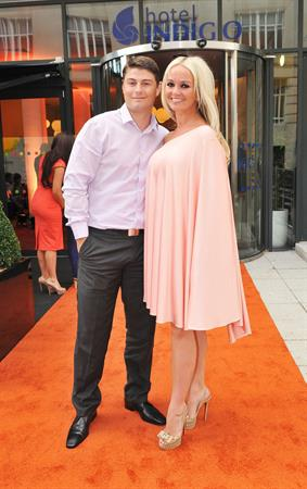 Jennifer Ellison at the opening of the Indigo hotel in Liverpool on July 7, 2011