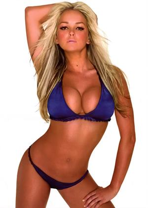 Jennifer Ellison image scans from 2009 calendar