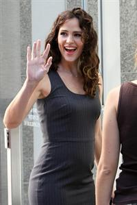 Jennifer Garner Arthur Movie set on August 27, 2010