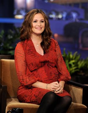Jennifer Garner on the Tonight Show with Jay Leno on January 1, 2012