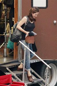 Jennifer Garner Filming 'Dallas Buyers Club' in New Orleans (November 15, 2012)