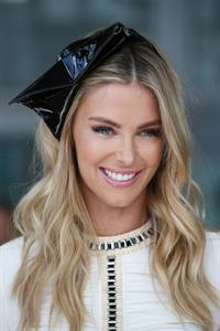 Jennifer Hawkins Myer A/W Racing Collection preview in Sydney 3/12/13