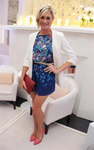 Jenni Falconer attends the launch of OMEGA House on July 28, 2012 in London, England