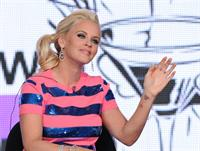 Jenny McCarthy MTV Viacom TCA in Pasadena 1/5/13