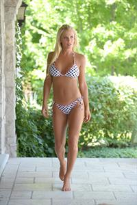 Jenny McCarthy - Albert Michael bikini photoshoot at a pool in Chicago July 7, 2012