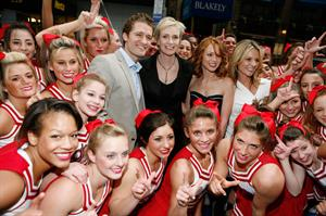 Jessalyn Gilsig Glee Cheerleaders Eclusive Performance at Fox's Upfront Presentation May 18th 2009