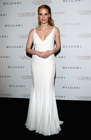 Jessica Chastain  Cleopatra  Cocktail Party in Cannes - May 21, 2013