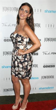 Jessica Lowndes Los Angeles Confidential Magazines annual pre Emmy bash on September 15, 2011