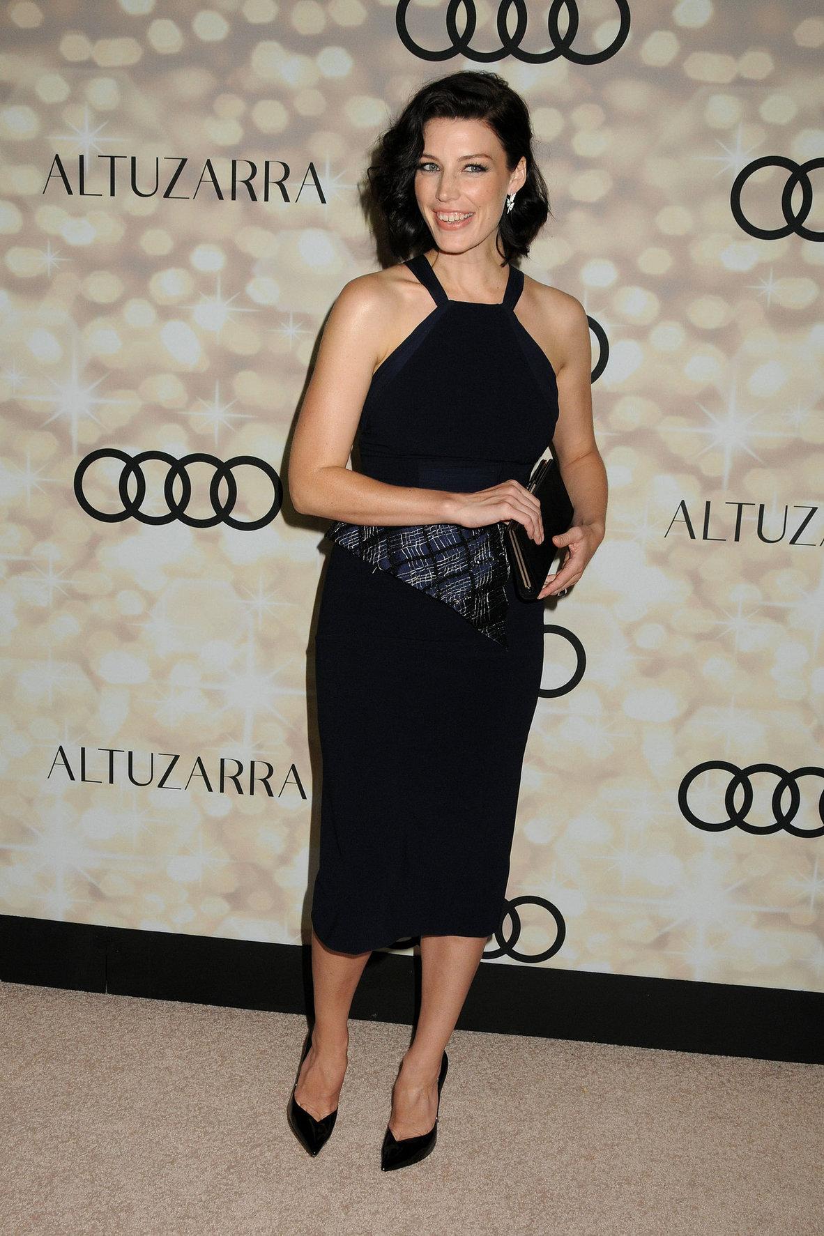Jessica Pare Audi & Altuzarra Emmys Week 2013 Kick-Off Party in Los Angeles, Sep. 15, 2013