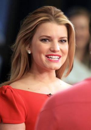 Jessica Simpson at Good Morning America on March 15, 2010