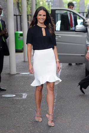 Jordana Brewster - Leaving ITV Studios, London - August 20, 2012