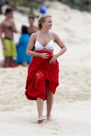 Julianne Hough bikini candids in St Barts 1/4/13