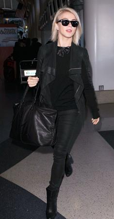 Julianne Hough at LAX Airport 1/28/13