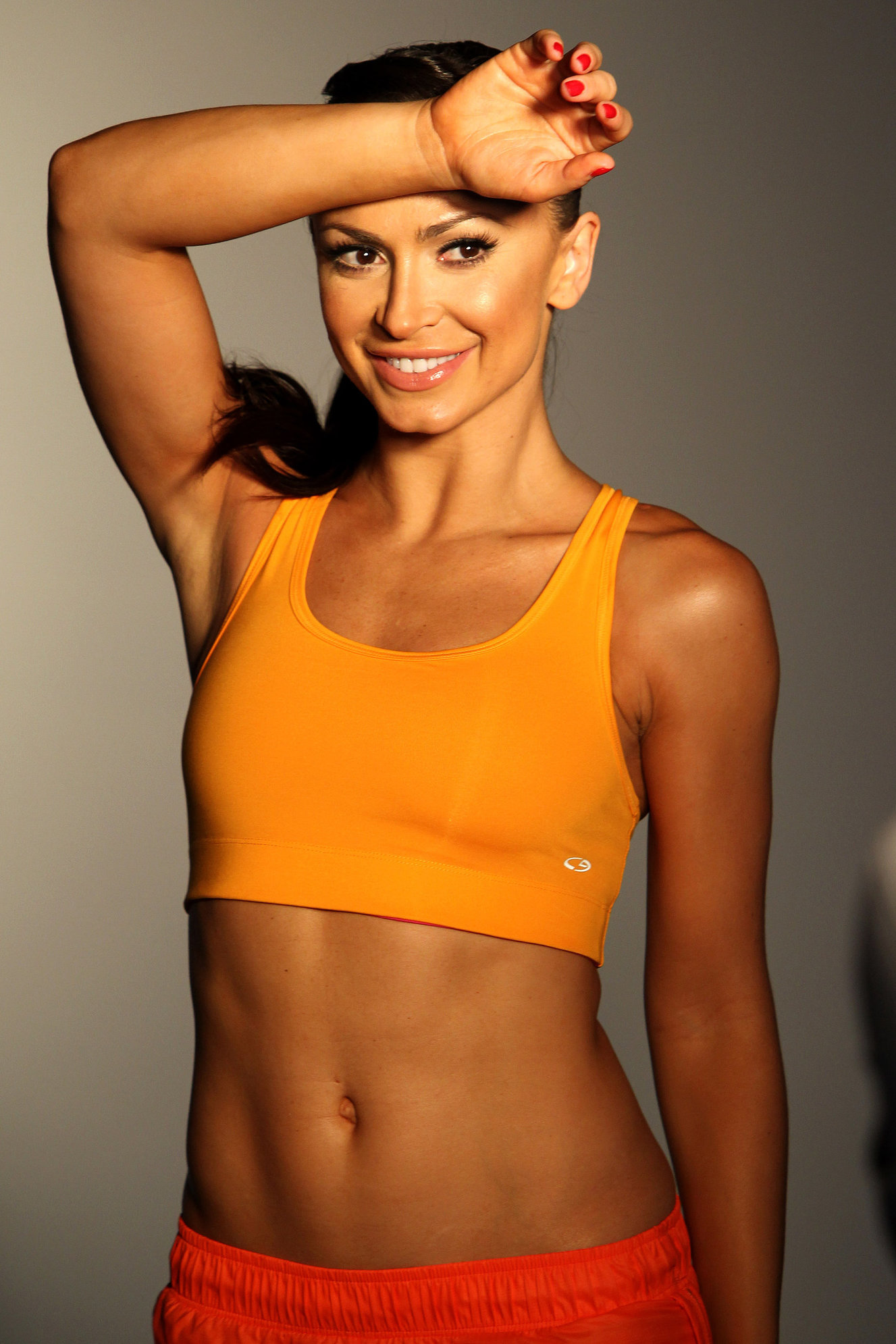 Karina Smirnoff Women's Running Magazine's Cover shoot in L.A. - Jan 8, 2013