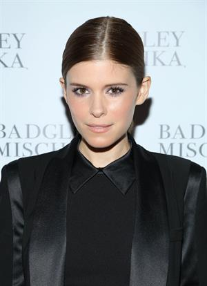 Kate Mara attends Badgley Mischka NYC Store Opening, September 10, 2013