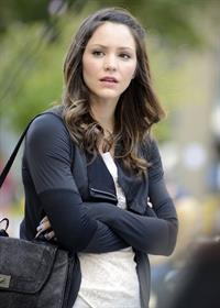 Katharine McPhee - On set of Smash in New York - September 14, 2012
