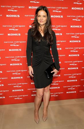 Katie Holmes Narciso Rodriguez Kohl's Collection Launch Party in NY - October 22, 2012