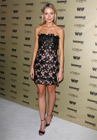 Katrina Bowden attends Entertainment Weekly and Women in Film Pre Emmy party on August 27, 2010