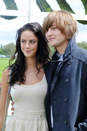 Kaya Scodelario - Cartier Queens Cup Polo at Smiths Lawn Windsor on June 17, 2012
