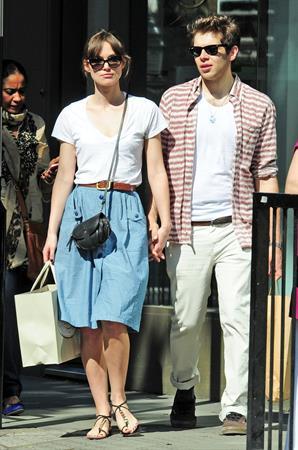 Keira Knightley London Candids May 27th 2012