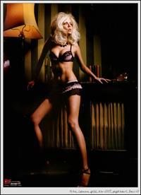 Petra Cubonova in lingerie
