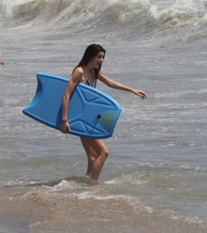 Kendall Jenner bikini candids in Malibu on July 4, 2013