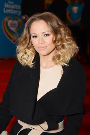 Kimberley Walsh The Health Lottery Fundraising Event -- London, Mar. 28, 2013