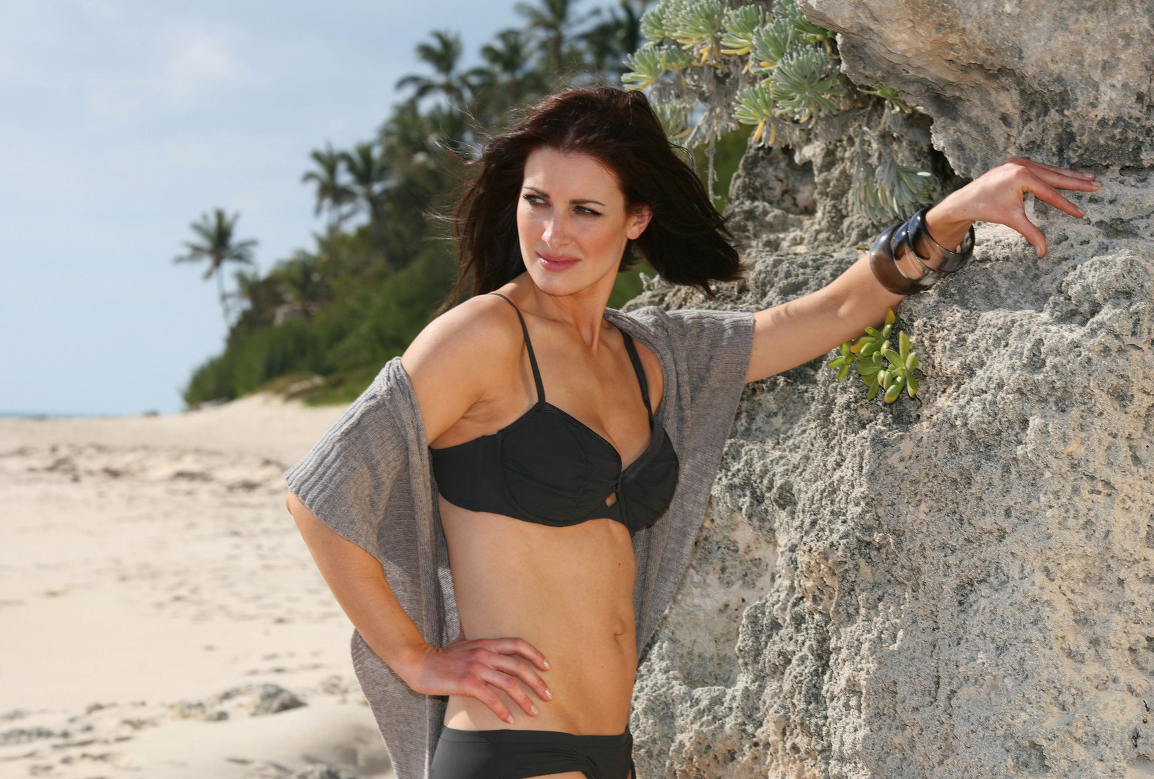 Kirsty Gallacher Bikini Photoshoot