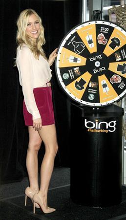 Kristin Cavallari Hosts The Bing it on Halloween Costume Challenge in New York on October 19, 2012