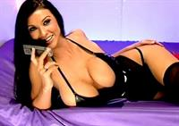 Alice Goodwin in lingerie