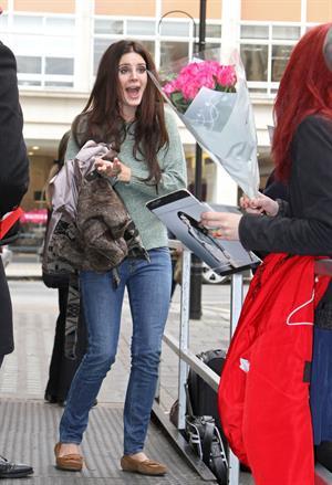 Lana Del Rey BBC Radio One in London 11/13/12