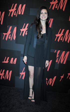 Lana Del Rey H&M concert NYC 9/19/12