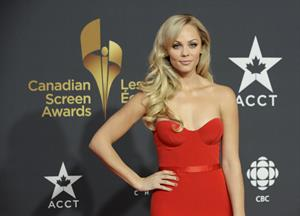 Laura Vandervoort Canadian Screen Awards in Toronto 3/3/13