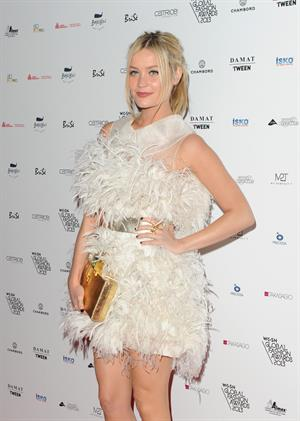 Laura Whitmore WGSN Global Fashion Awards in London - on October 30, 2013