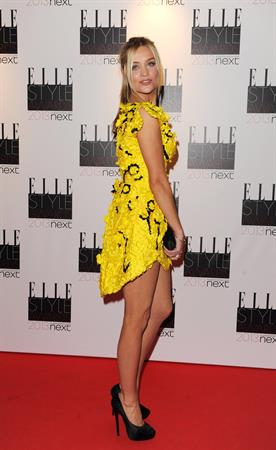 Laura Whitmore ELLE Style Awards, London, Feb 11, 2013