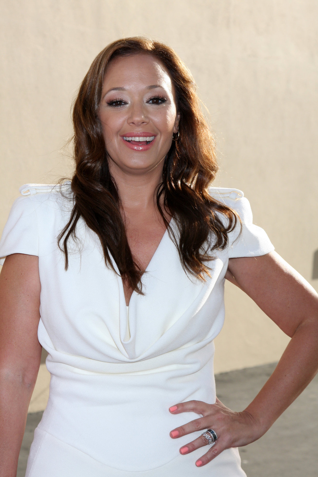 Leah Remini - Disney Media Networks 2012 International Upfronts in Burbank (May 20, 2012)