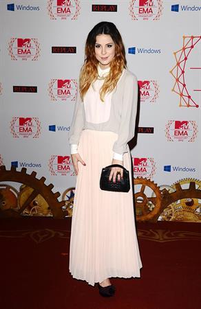 Lena Meyer-Landrut MTV EMA's 2012 Frankfurt on November 11, 2012