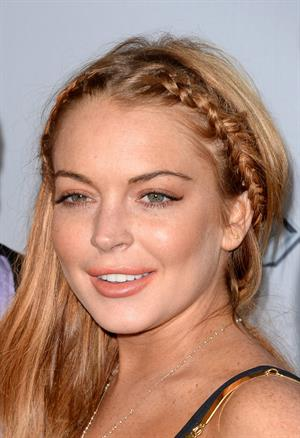 Lindsay Lohan Scary Movie 5 premiere in Hollywood on April 11, 2013
