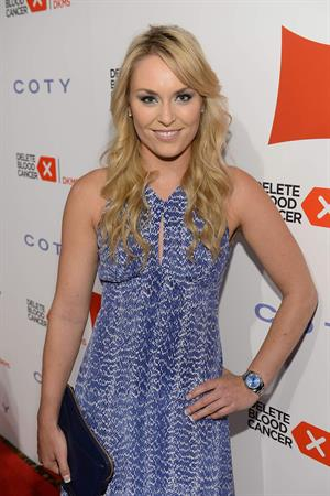 Lindsey Vonn attends the 2013 Delete Blood Cancer Gala in NY May 1, 2013